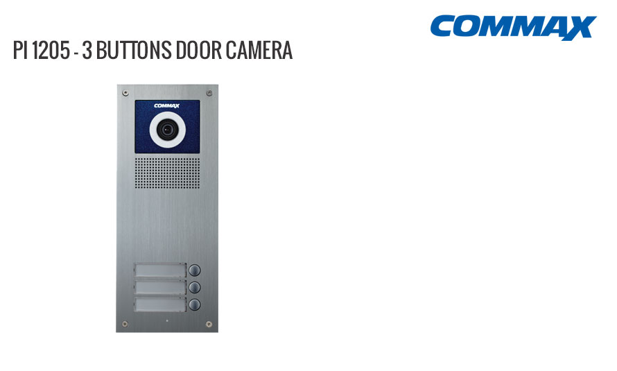 3 Button Door Camera