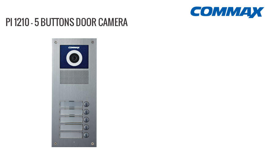 5 Button Door Camera