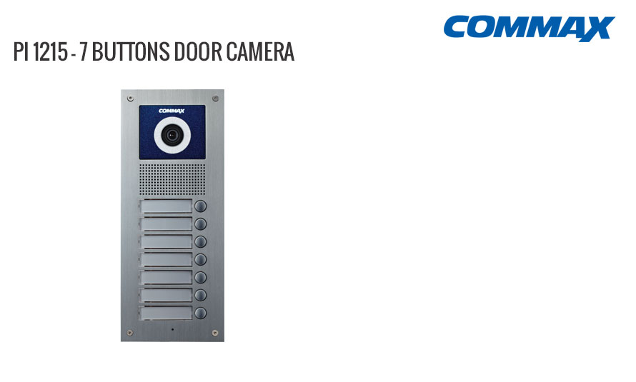 7 Button Door Camera