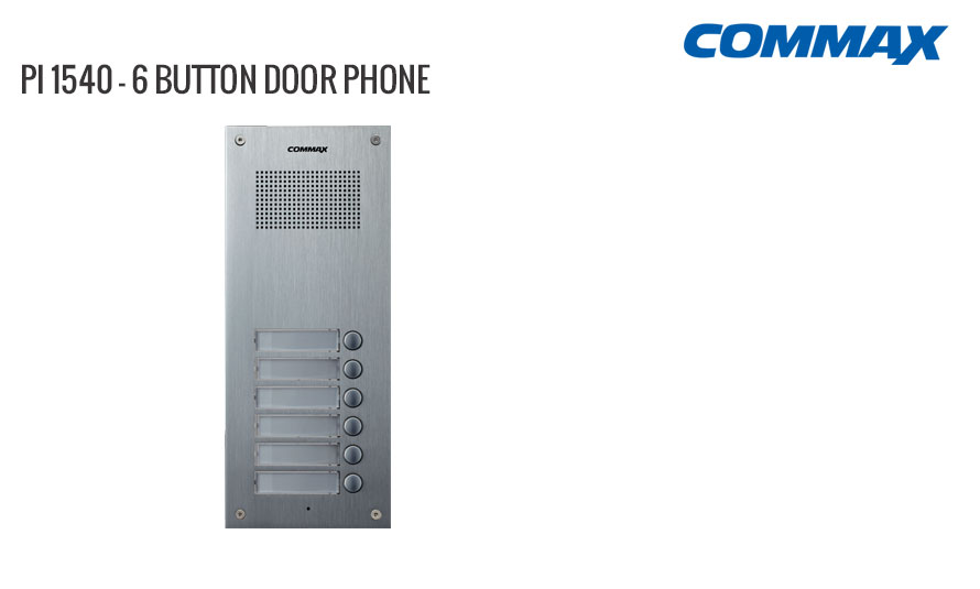 6 Button Door Phone