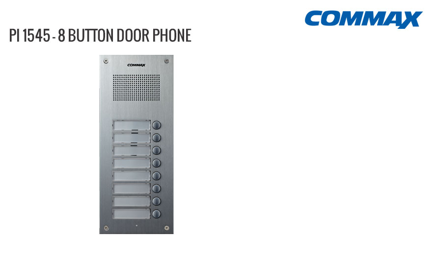 8 Button Door Phone