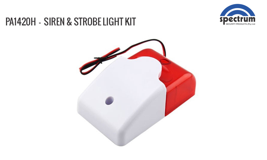 Siren and Strobe Light Kit