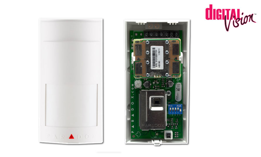 Microwave and Infrared Digital Motion Detector