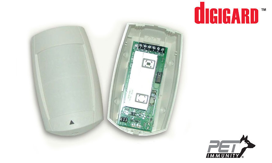 High-Security Digital Motion Detector with Pet Immunity
