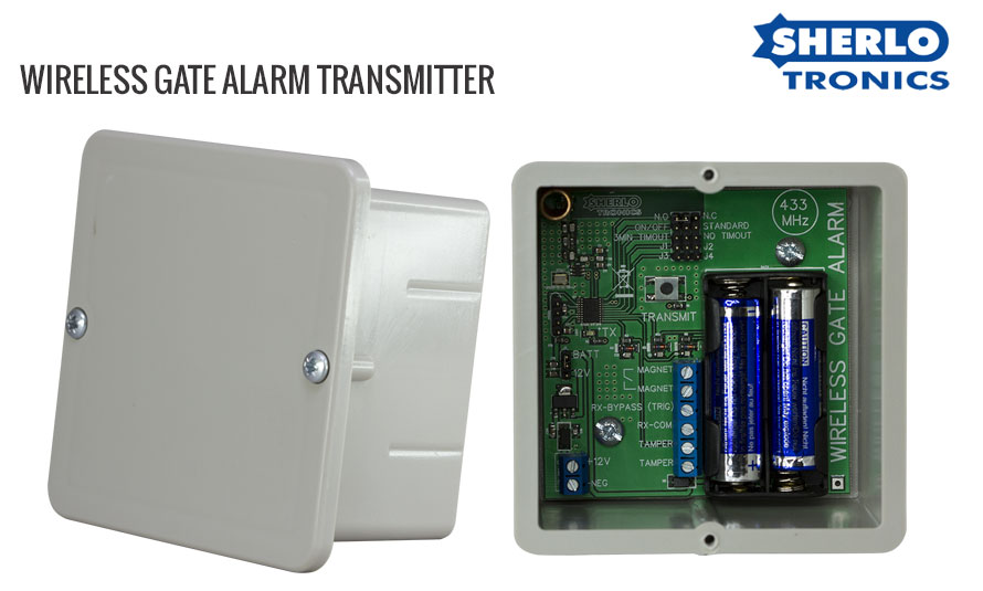 Wireless Gate Alarm Transmitter